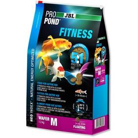 JBL ProPond Fitness M корм для активных карпов кои среднего размера, плавучие чипсы 2,5 кг (6 л)