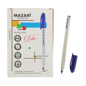 Ручка шариковая Delta Ultra Soft, игольчатый пишущий узел 1.0 мм, чернила синие