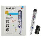 Маркер для доски 4.0 мм MAZARI Signal чёрный