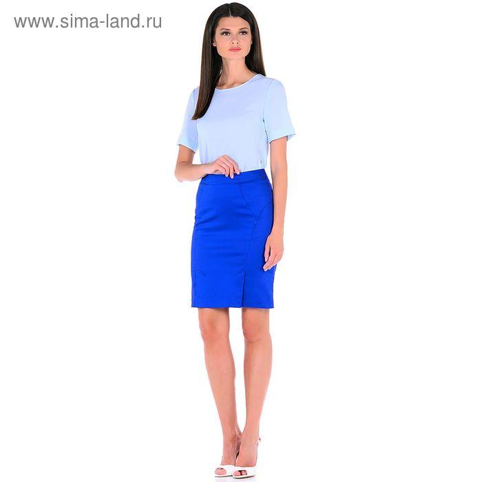 Юбка женская, размер 48, рост 170, цвет синий ub6402-0458