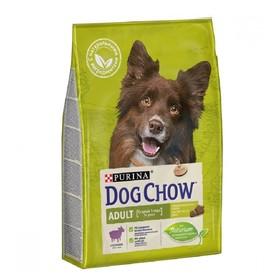 Сухой корм DOG CHOW для собак, ягненок, 800 г