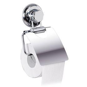 Держатель для туалетной бумаги на вакуумном шурупе