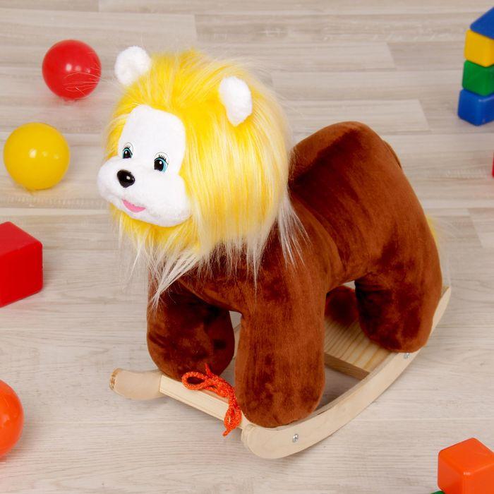 """Качалка """"Лев"""", 40 см, для кукол"""