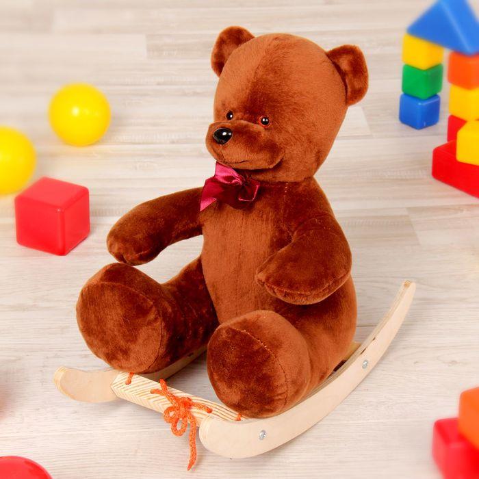"""Качалка """"Медведь люкс"""", 40 см, для кукол"""