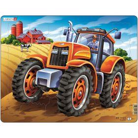 Пазл «Трактор», 37 деталей (US4)