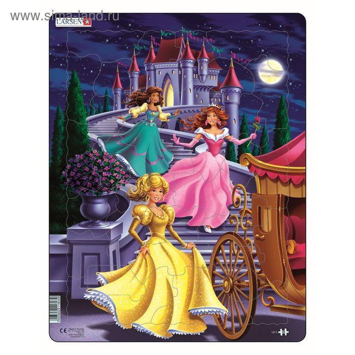 "Пазл ""Принцессы"", 35 деталей (US5)"