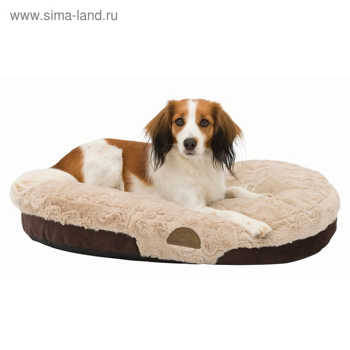 Лежак Trixie Malu, 80 х 55 см, коричневый/светло-коричневый
