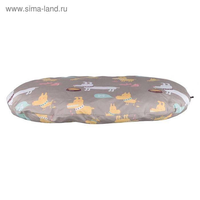 Лежак Trixie Feidi, 80 x 55 см, бежево-серый