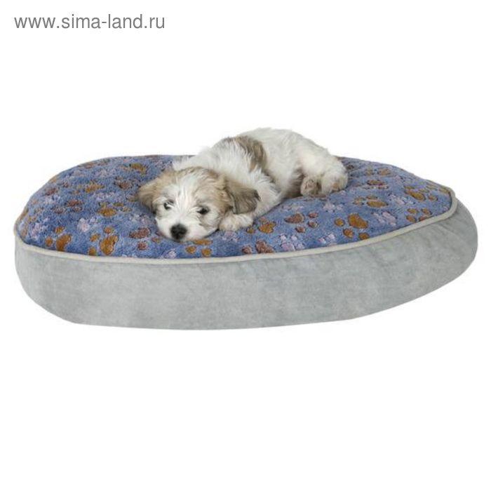 Лежак Trixie Trixie Laslo, 60 × 45 см, серый/синий