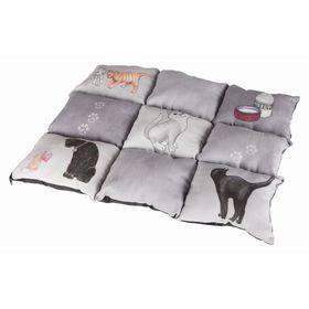 Подстилка Trixie Patchwork Cat, 45 x 55 см,серый