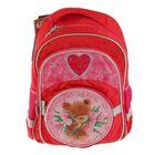Рюкзак школьный Kite Popcorn Bear 525 PO, 38 х 29 х 13 см, розовый
