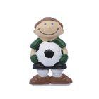"""Наконечник на карниз d=2,8 см """"Футболист"""", цвет зеленый"""