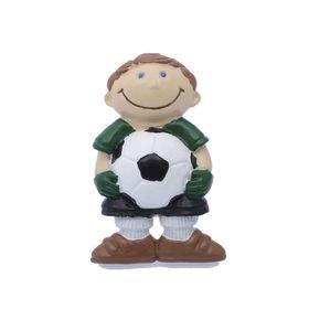 Наконечник на карниз d=2,8 см 'Футболист', цвет зеленый Ош