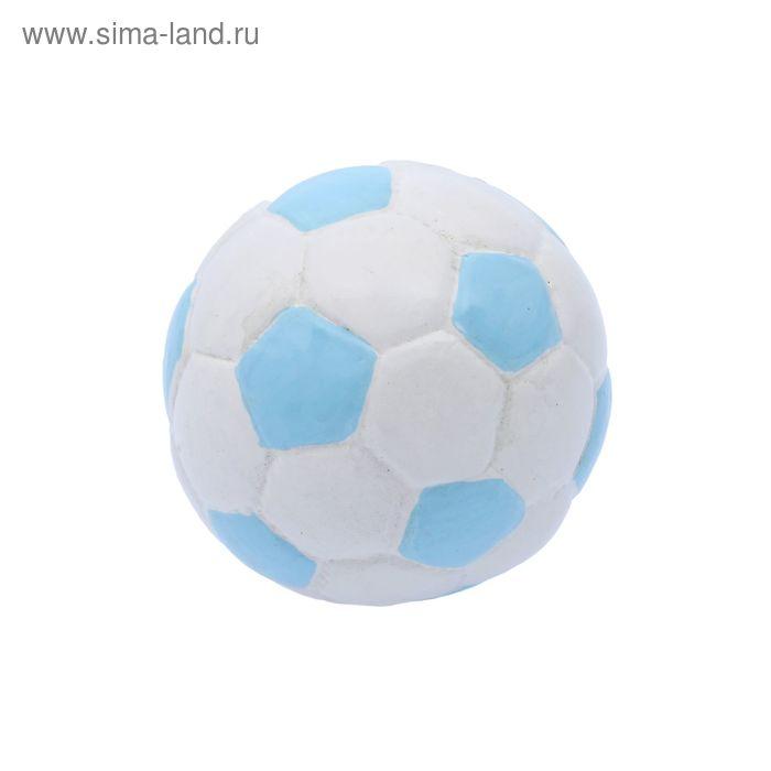 """Наконечник на карниз d=2,8 см """"Мячик"""", цвет голубой"""