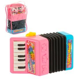 Музыкальная игрушка гармонь «Мордашки», световые и звуковые эффекты, МИКС в Донецке