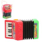 "Musical toy accordion ""Face"", light and sound effects, the MIX"