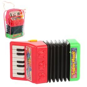 Музыкальная игрушка гармонь «Мордашки», световые и звуковые эффекты, МИКС