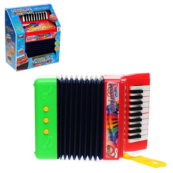 Музыкальная игрушка «Гармонь», звуковые эффекты, МИКС