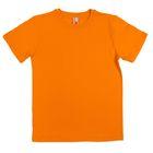 Футболка для мальчика, рост 146 см, цвет оранжевый