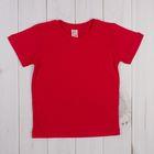 Футболка для мальчика, рост 92 см, цвет красный CAK 6930_М