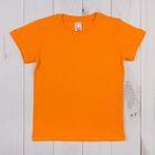 Футболка для мальчика, рост 92 см, цвет оранжевый CAK 6930_М