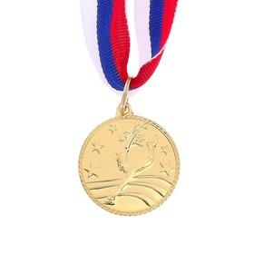 Медаль тематическая «Танцы одиночные», золото, d=3,5 см