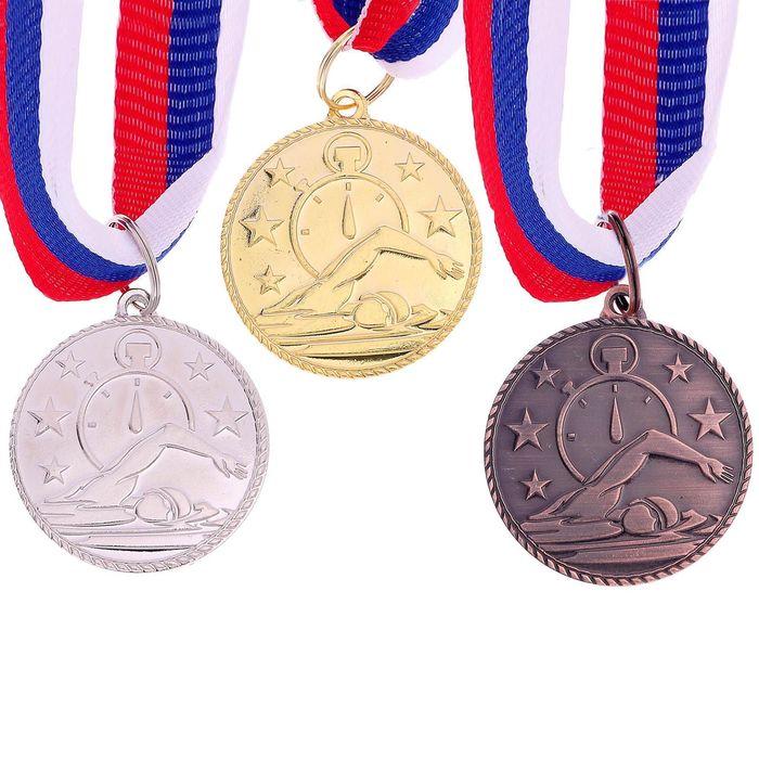 """Медаль тематическая 123 """"Плавание"""""""
