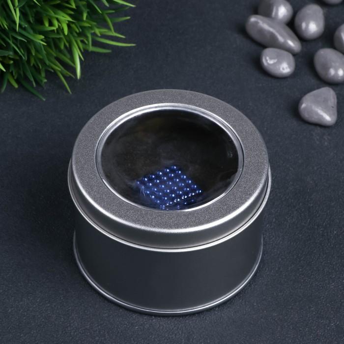 """Антистресс магнит """"Неокуб"""" 216 шариков d=0,3 см (синий)"""
