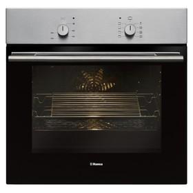 Духовой шкаф Hansa BOEI 68012, электрический, 66 л, 8 режимов, функция гриля, нерж. сталь