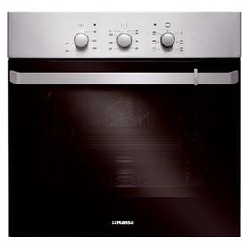 Духовой шкаф Hansa BOEI 68162, электрический, 65 л, 8 режимов, функция гриля, серебристый