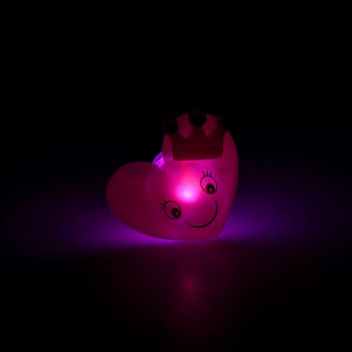 """Кольцо световое """"Сердце с короной"""""""
