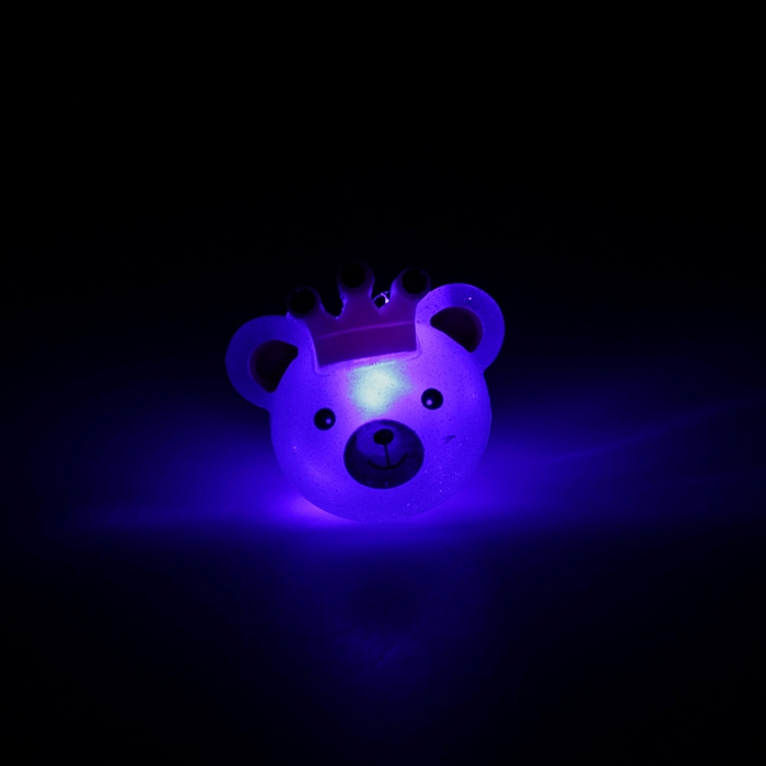 """Кольцо световое """"Мишка с короной"""""""