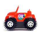 Машина-перевертыш «Кабриолет», работает от батареек, цвета МИКС - фото 105649678