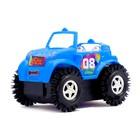 Машина-перевертыш «Кабриолет», работает от батареек, цвета МИКС - фото 105649680