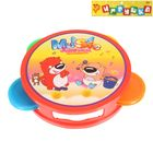 "Toy musical tambourine ""Funny friends"", a MIX"