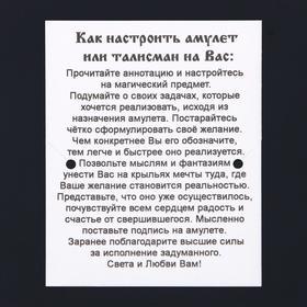 """Амулет """"Сердечные узы"""", (мед/сталь) - фото 7470728"""