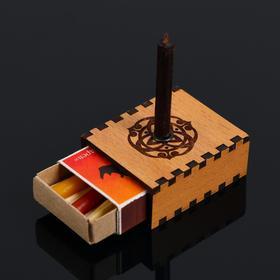 """Набор ларец желаний """"Достижение успеха"""" со свечками, 5,2х4,5х2 см"""
