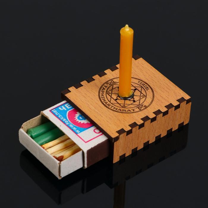 "Набор ларец желаний ""Увеличение прибыли"" со свечками, 5,2х4,5х2 см"