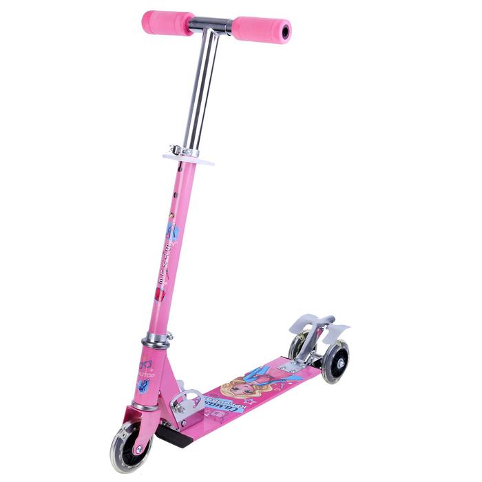 Самокат детский ONLITOP Style, цвет розовый
