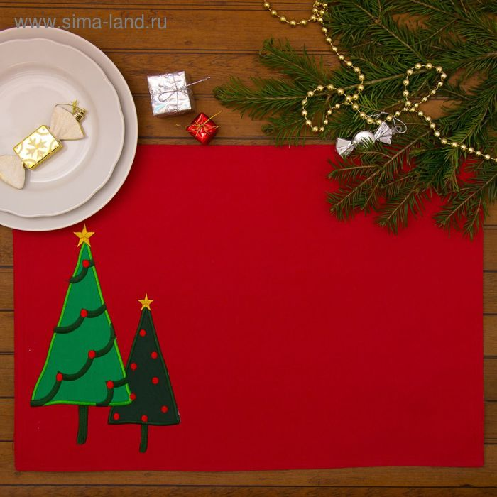"Салфетка на стол Collorista ""Сказочное дерево"" 33х45 см"