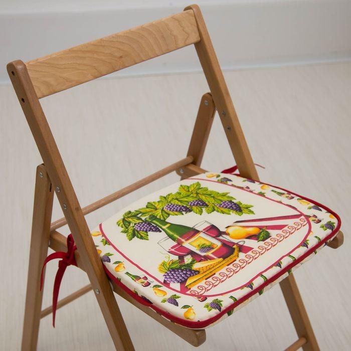 Подушка на стул «Натюрморт», 41 х 36 х 3 см