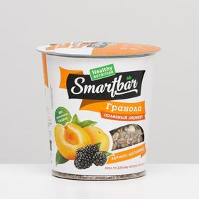 """Запеченные завтраки """"Гранола с абрикосом и шелковицей"""" SmartBar 50 г"""
