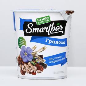 """Запеченные завтраки """"Гранола с семенами льна, кунжута и подсолнечника"""" SmartBar 50 г"""