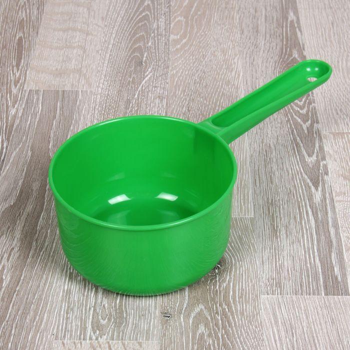 Ковш 0,75 л, цвет зелёный