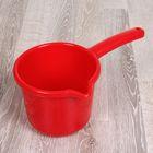 Ковш с носиком 1,3 л, цвет красный