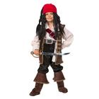 Карнавальный костюм «Капитан Джек Воробей», бархат, размер 34, рост 134 см