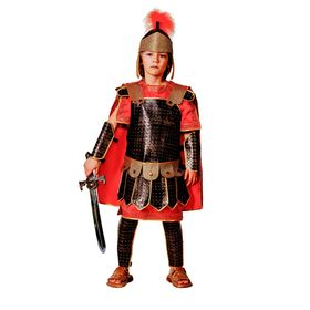 Детский карнавальный костюм «Римский воин», текстиль, размер 32, рост 122 см