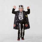 Карнавальный костюм «Кощей Бессмертный сказочный», сатин, размер 32, рост 122 см