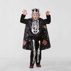 Карнавальный костюм «Кощей Бессмертный сказочный», сатин, р. 34, рост 134 см