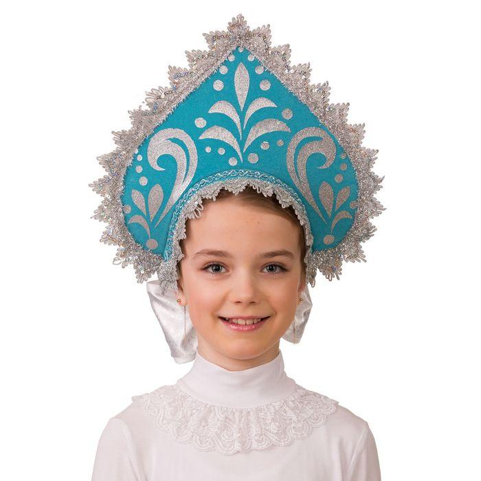 Кокошник детский «Россиянка» - фото 797815032